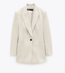 Marynarka Zara Collar Frock Coat