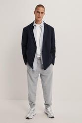 Marynarka Zara Textured Weave Relaxed Fit Blazer