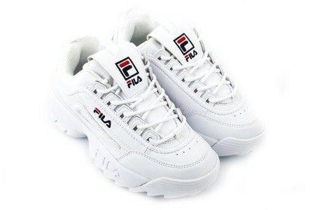 Fila WMN Disruptor Low Women Lifestyle Shoes Sneakers New White 1010302.1FG