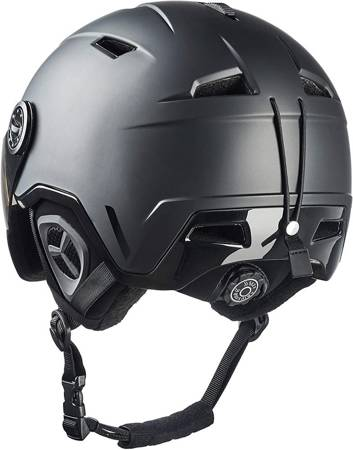 Kask Black Crevice Vail with Visor