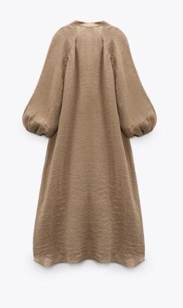 Sukienka Zara Voluminous Shirt Dress
